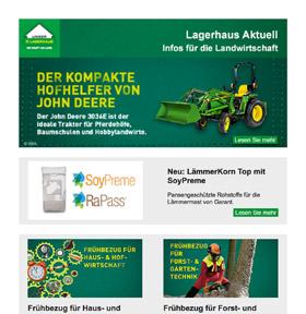 Newsletter Lagerhausnewsletter